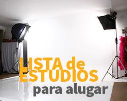 Lista de Estudios fotográficos para Alugar